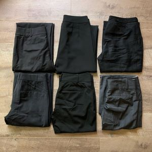 Six Pairs of Ann Taylor Pants